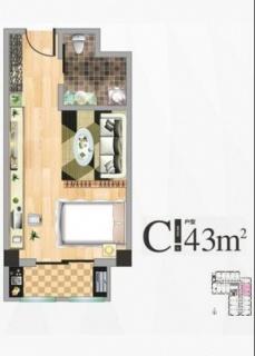 公寓楼C户型