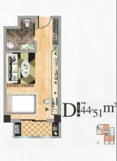 公寓楼D户型