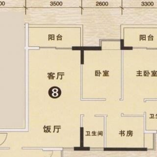 3期银松七街1栋、3栋08户型