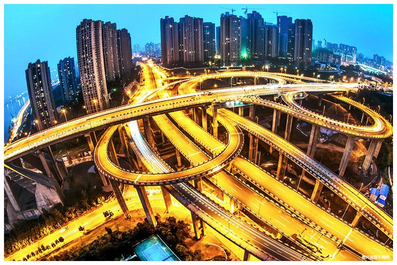 3d马路风景图片