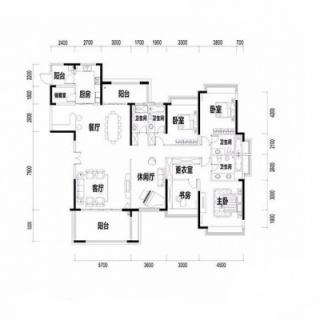 10栋户型图