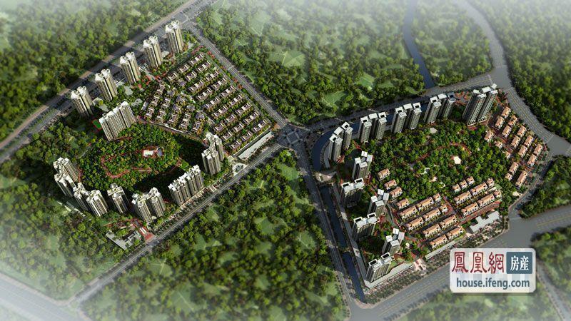 中海原山别墅楼盘环境 - 凤凰网房产广州