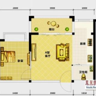 高层公寓2-18层A户型
