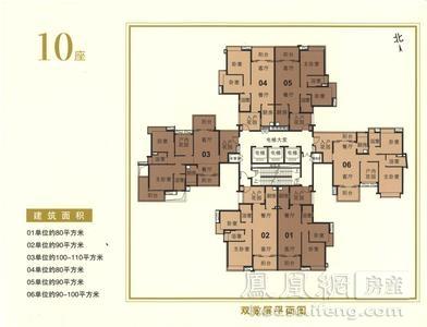 新鸿基·御华园户型-广州凤凰网房产