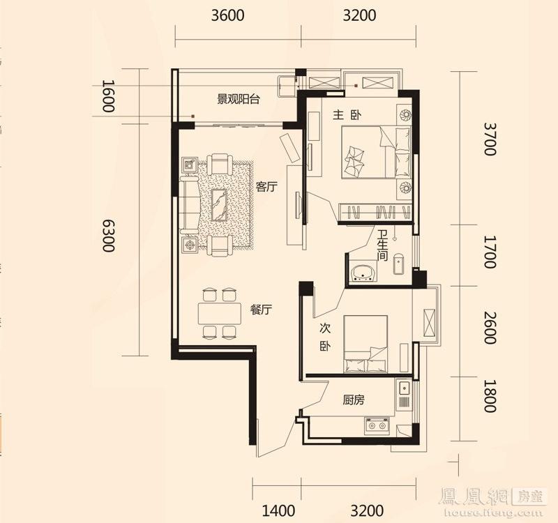 瑞和家园户型-南宁凤凰网房产