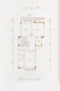 D户型二层平面图