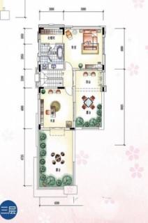 C型板房户型图