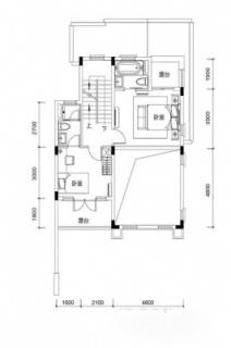 联排别墅A4户型约196平