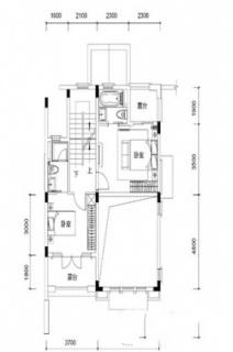 联排别墅B2户型约186平