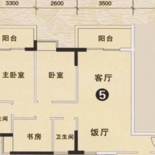 3期银松七街1栋、3栋05户型