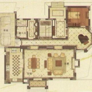独栋别墅300-350平米