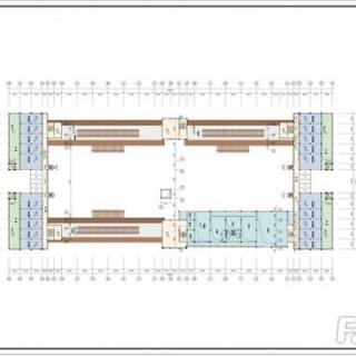 三层商铺平面户型;主力户型72平方米