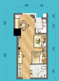 SOHO公寓C1户型