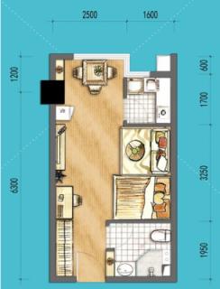 SOHO公寓E户型