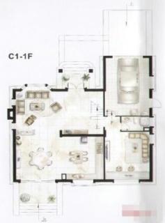 独栋别墅C1户型