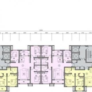 1#楼平面户型图