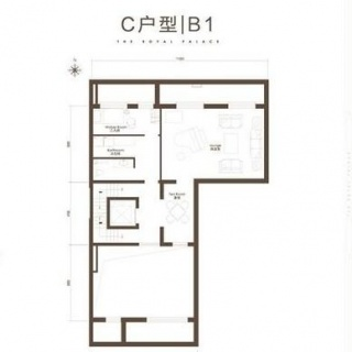 C户型358平