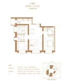 商务公寓B1户型