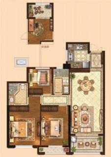三室两厅两卫103平