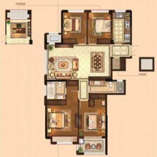 四室两厅两卫133平