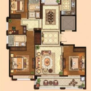 四室两厅两卫143平