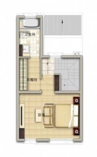 联排别墅南130平三层