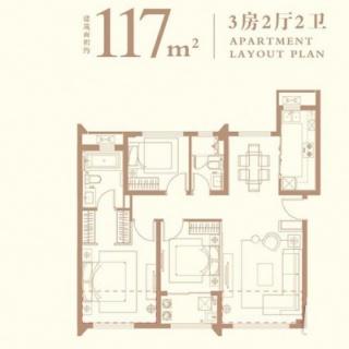 117平户型图