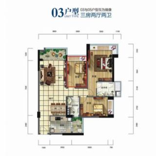 酒店式公寓多层03户型