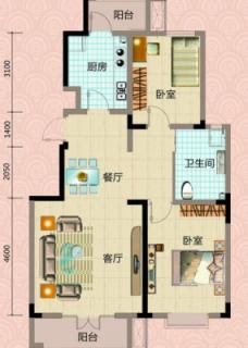 4#楼标准层户型