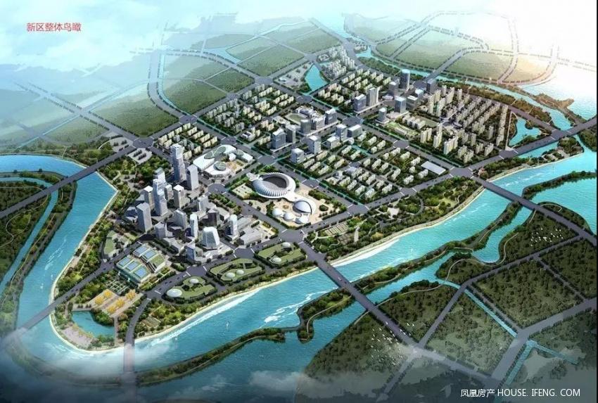 相山区凤凰新区规划图