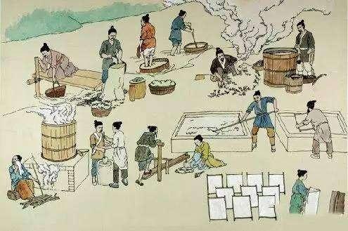 寻源中华传统文化 体验古法造纸工艺