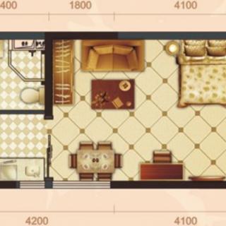 罗马二期公寓03户型