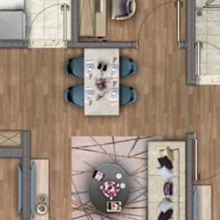 洋房90平米