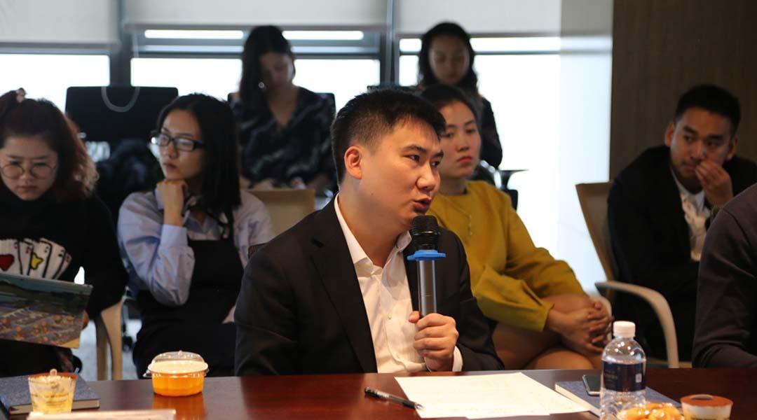 金辉集团重庆公司销售总监李俊