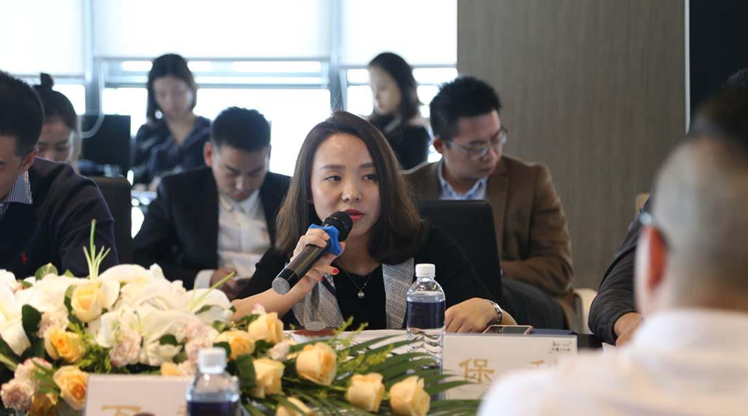保利地产重庆公司营销中心总经理肖婷婷