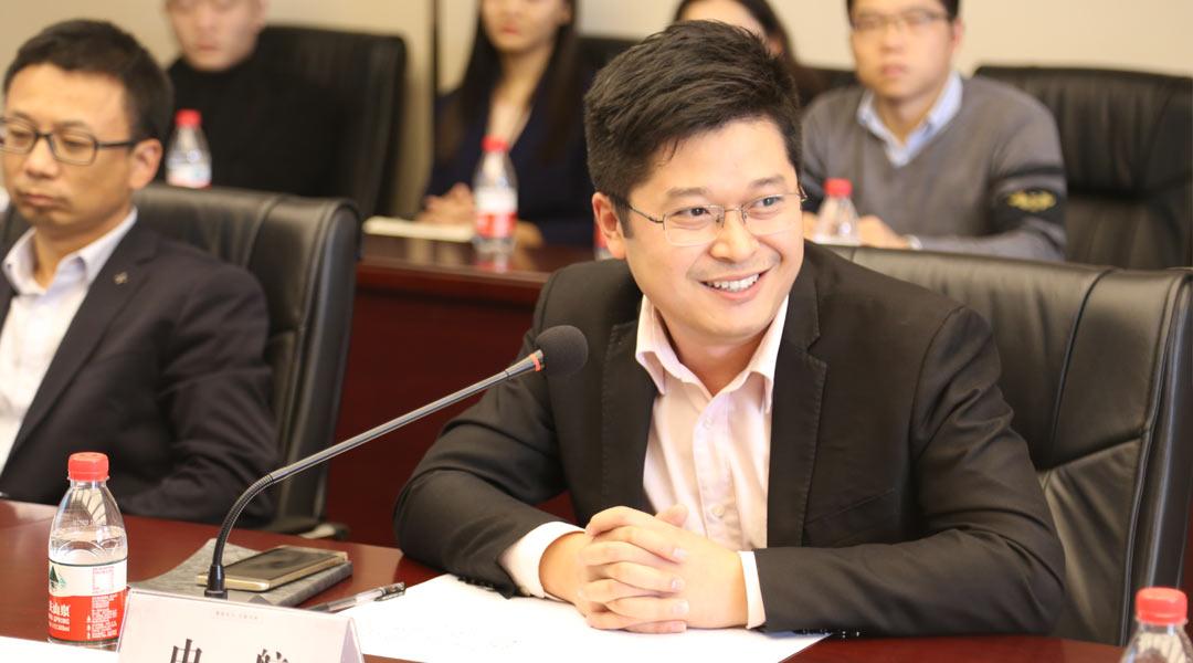 中航小镇项目营销负责人 张洪涛