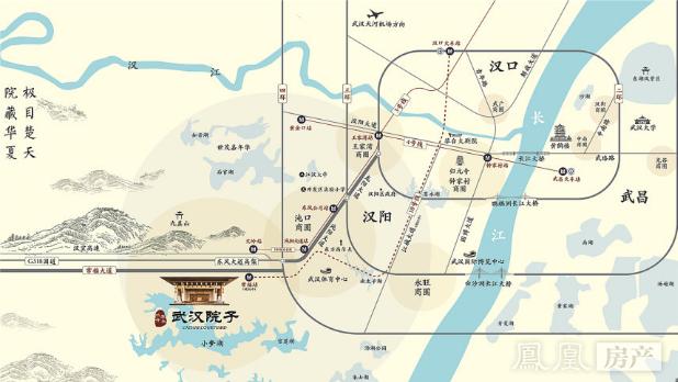 武汉院子规划图2