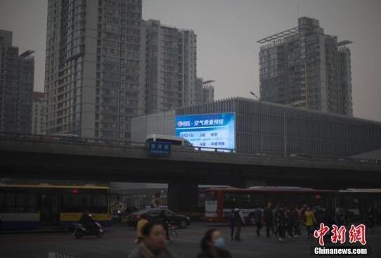10月京津冀及周边17个城市PM2.5月均浓度同比下降