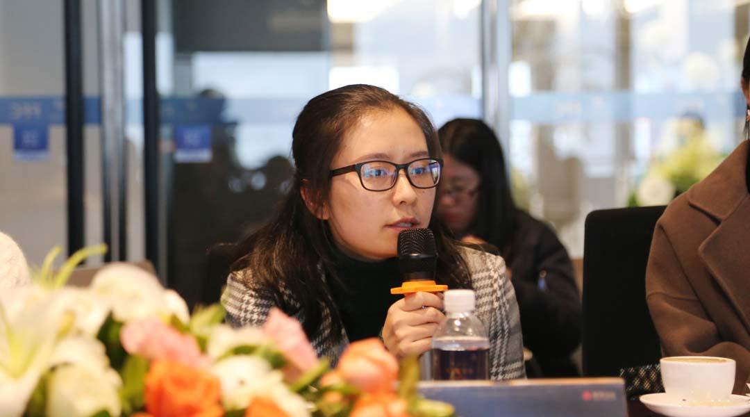 重庆鲁能开发(集团)有限公司营销中心品牌经理 谭俊丽