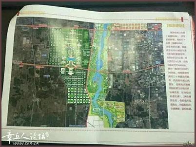 论坛贴出的疑似校区规划图