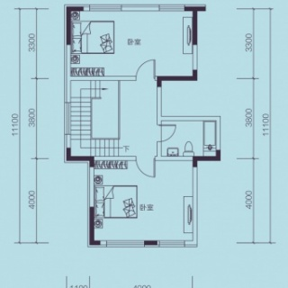 F3户型, 联排别墅