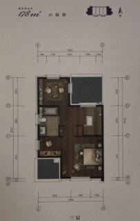 联排别墅178平三层
