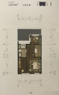 联排别墅155平三层