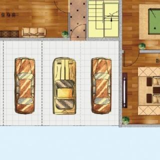 E户型负一层 3+2房两厅四卫