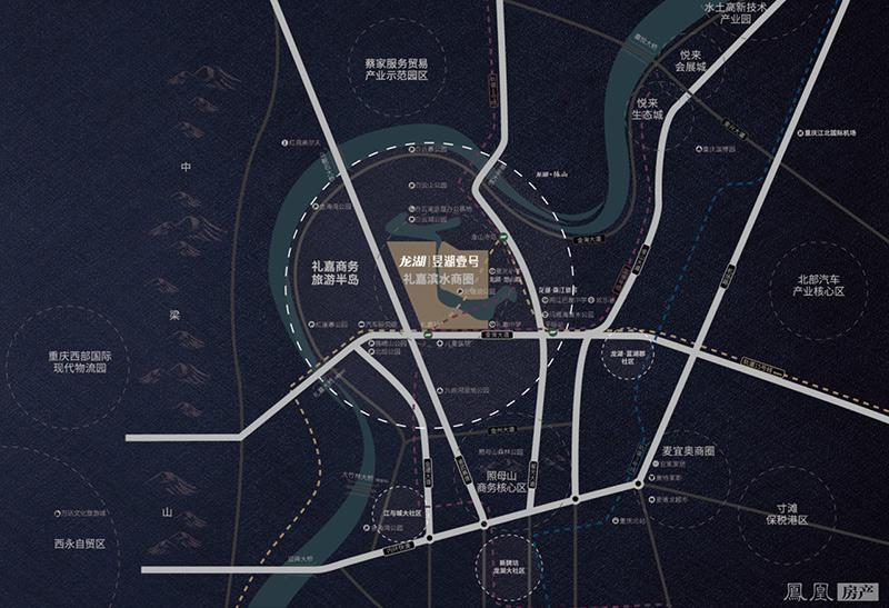 龙湖·昱湖壹号实景图
