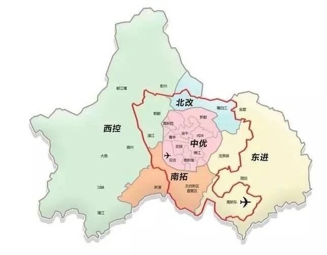 四川西部旅游景点地图