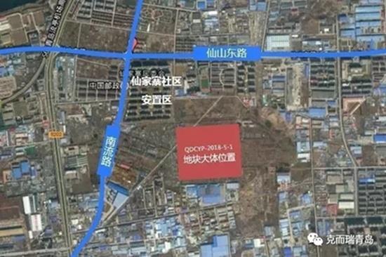 莱西市国土局出让位于望城街道办事处青岛路西两幅地块和位于姜山镇