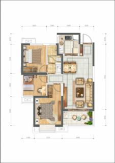 3#楼A1户型