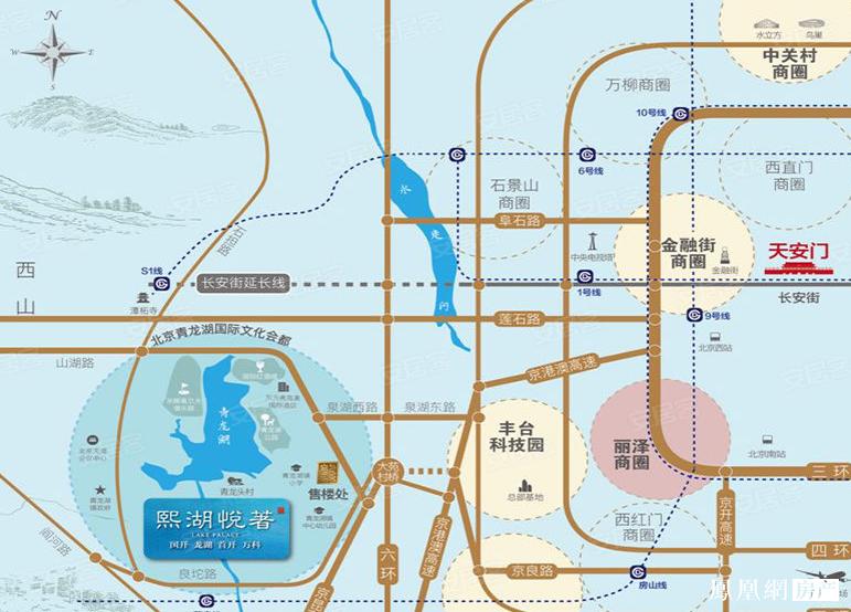 熙湖悦著规划图