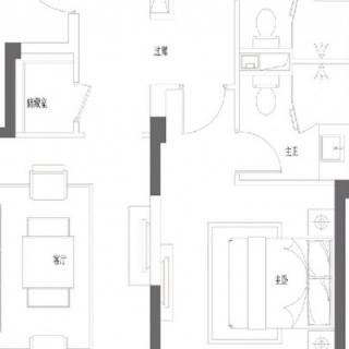 102㎡两房两厅两卫
